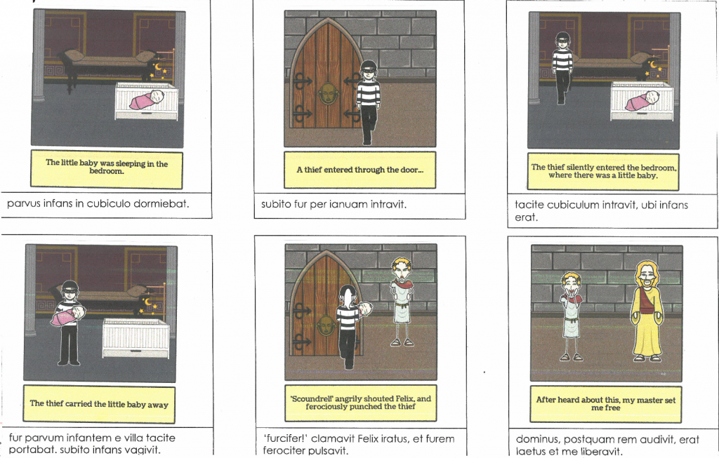 Scan of Storyboard That